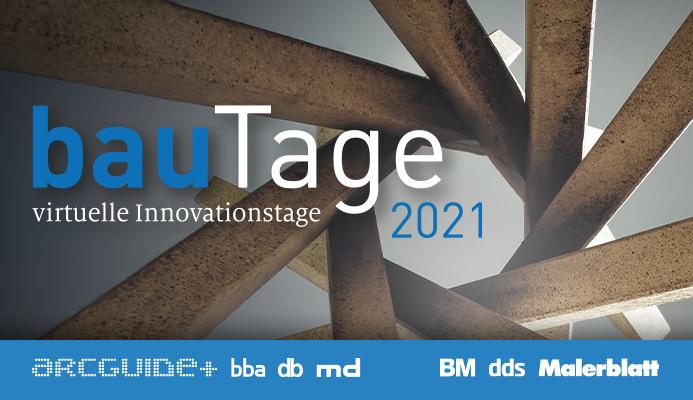 bauTage 2021 finden virtuell statt