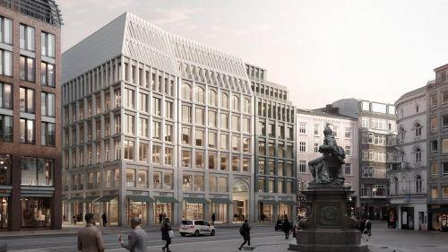 Hamburg: BIWERMAU gewinnt Architektenwettbewerb für Gänsemarkt