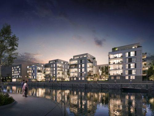 SORAVIA entwickelt gemischtes Quartier am Mainzer Zollhafen