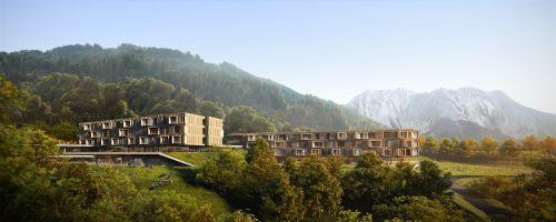 Baubeschluss für Familienhotel in Latschau