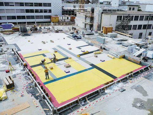 Gebäudelager per Charter von Linz nach Shanghai