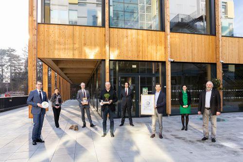 Ilse Wallentin Haus mit Green & Blue Building Award ausgezeichnet