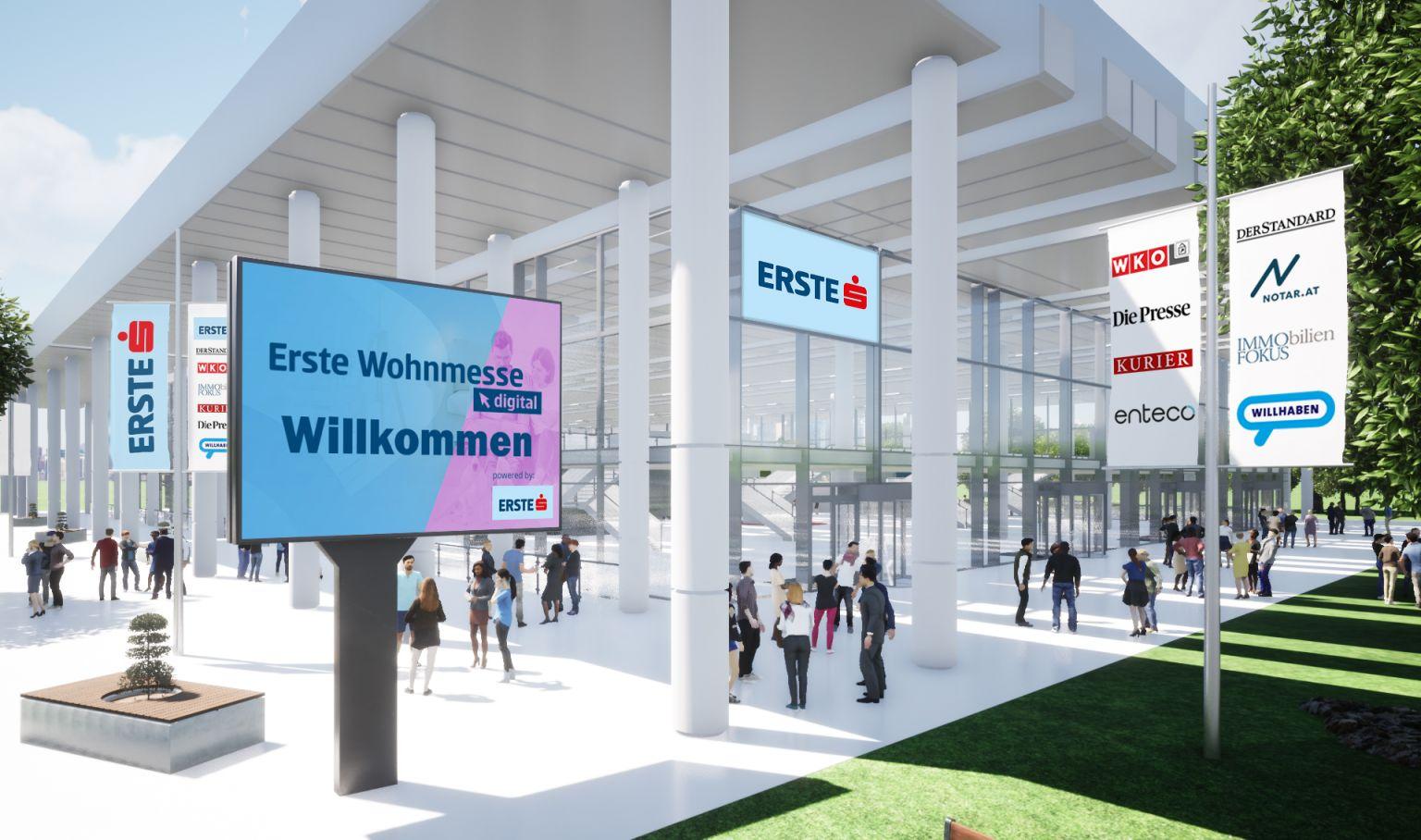 Die Erste Wohnmesse .digital 2021 findet am 25. April statt