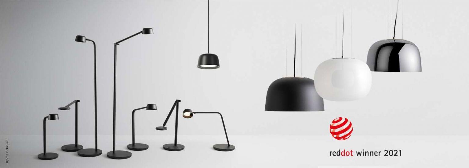 Gleich zwei Red Dot Design Awards für Glamox-Leuchten