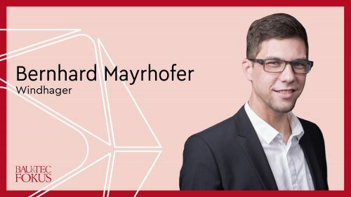 Bernhard Mayrhofer ist neuer Marktleiter bei Windhager