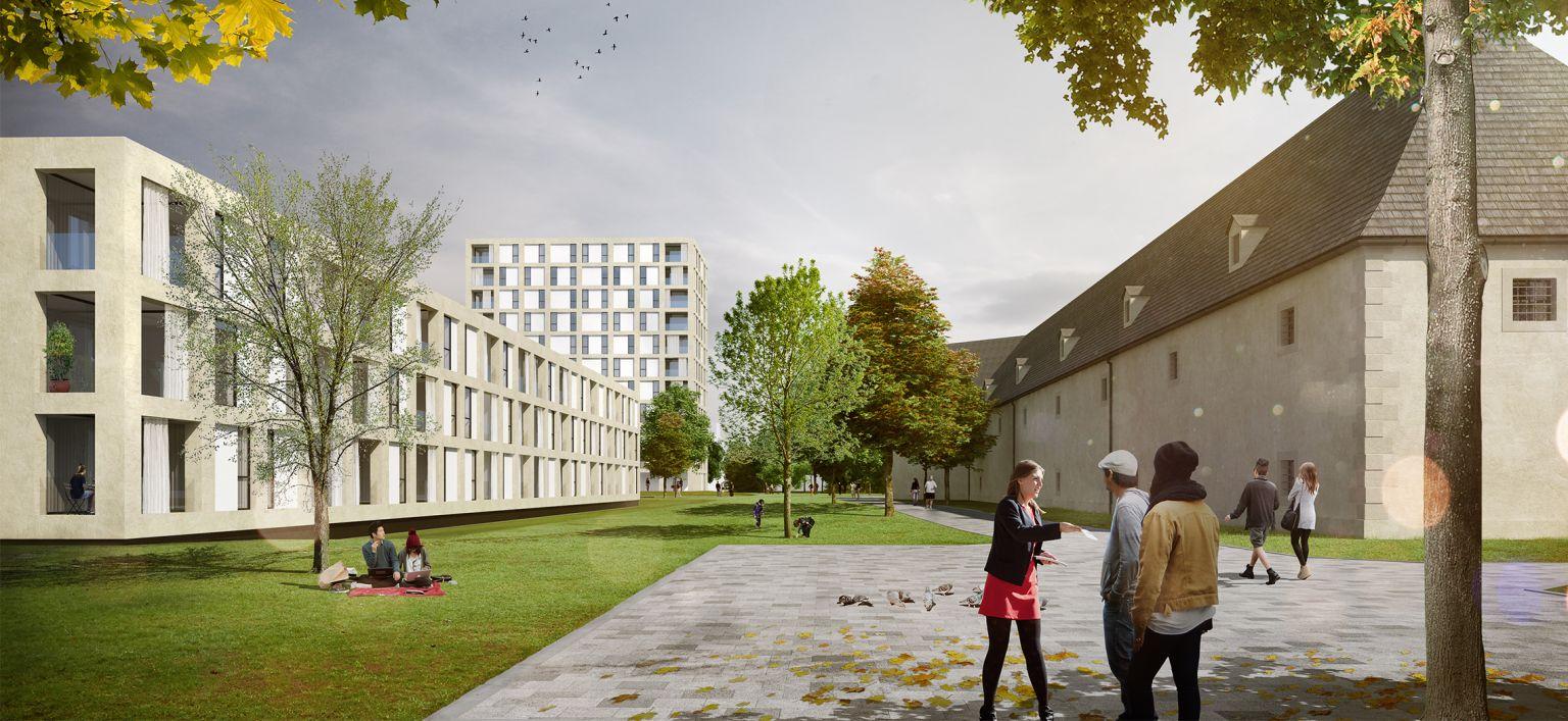 ARE und NHT errichten in Innsbruck ein neues Wohnquartier