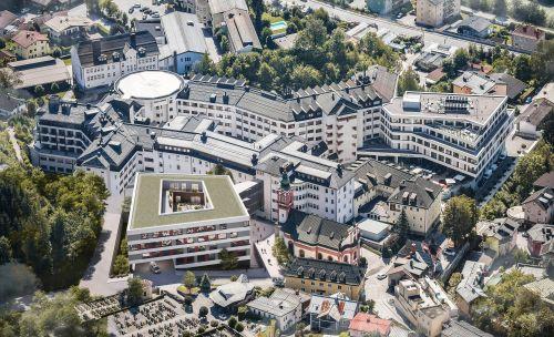 Schwarzenberg Klinikum errichtet siebenstöckigen Komplex um 56 Millionen Euro