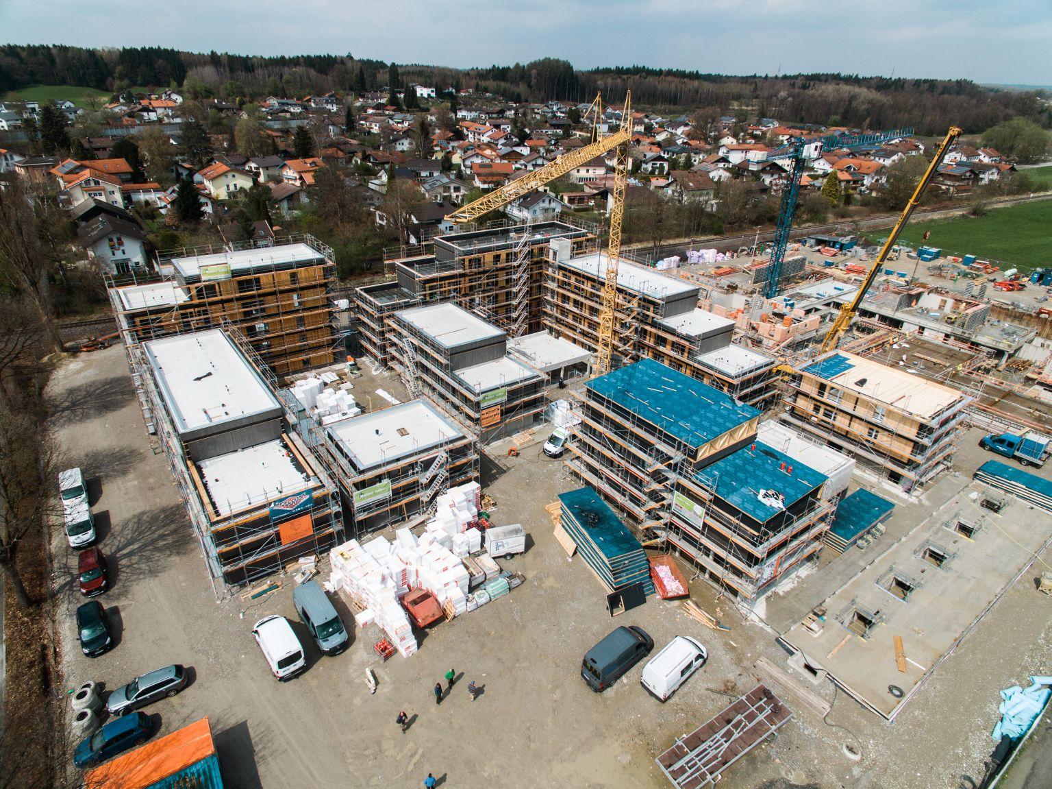 CampusRO: Rohbau- und Fassadenarbeiten abgeschlossen