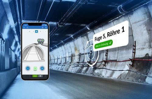PlanRadar erstmals bei Tunnelbau im Einsatz