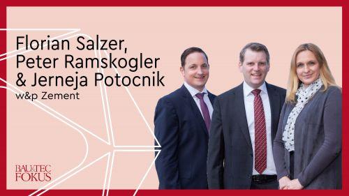 Neues Direktoren-Trio für w&p Zement