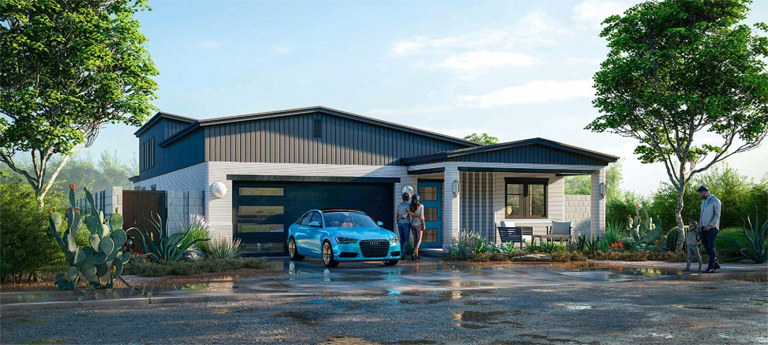 PERI druckt erstes Wohnhaus in den USA