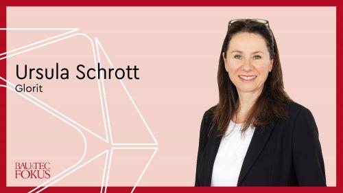 Ursula Schrott ist neue Leiterin der Sparte Wohnbau bei Glorit