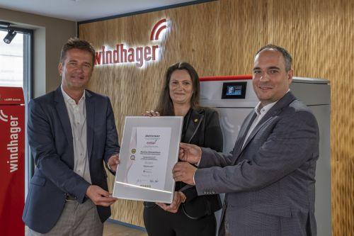 Windhager mit Austria Gütezeichen zertifiziert