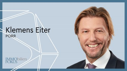 PORR: Klemens Eiter neuer CFO