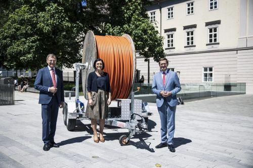Breitbandausbau wird in Oberösterreich vorangetrieben
