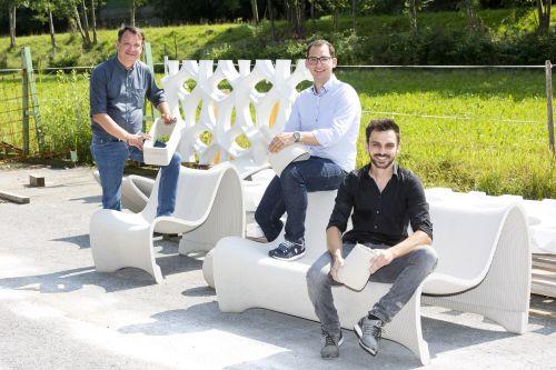 Concrete 3D bringt gedruckte Betonbauteile auf den Markt