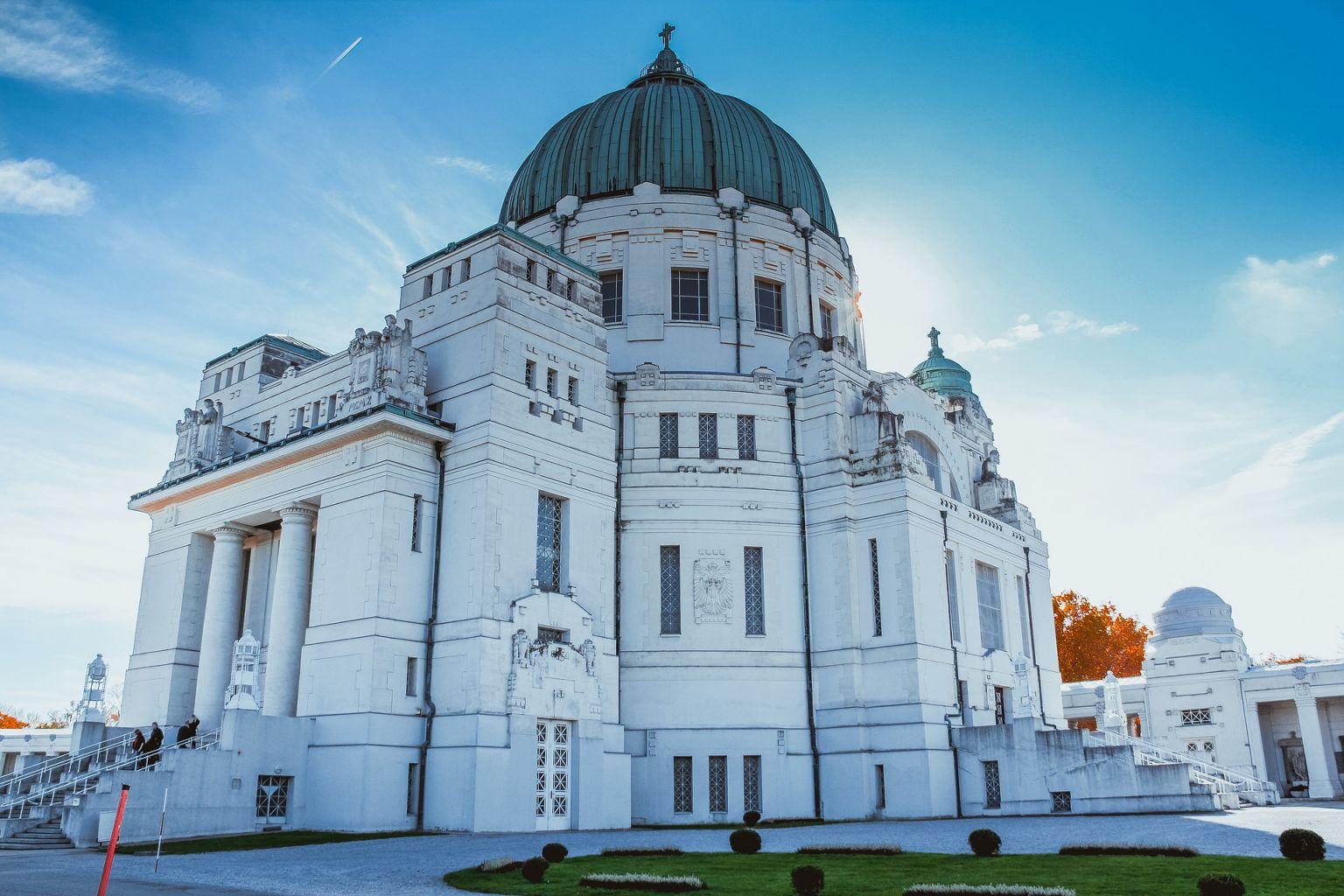 Spatenstich für neue Leichenkammer am Wiener Zentralfriedhof