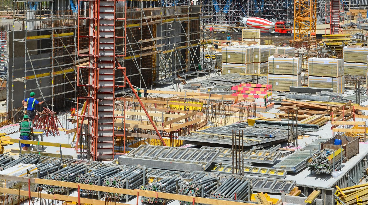 Materialmangel bestimmt weiterhin die deutsche Baubranche