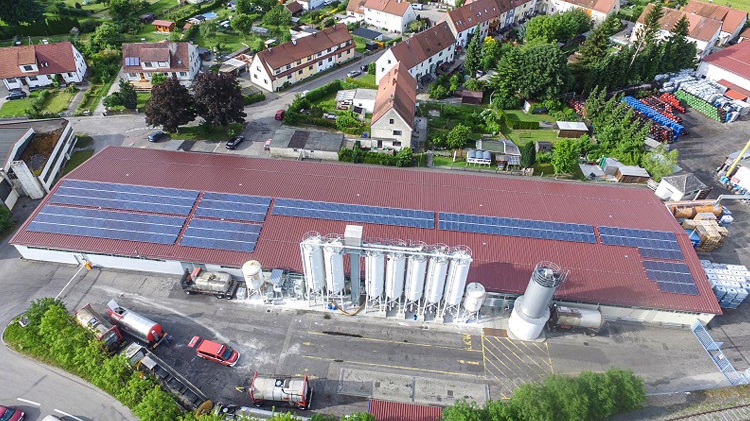 Vialit setzt auf Sonnenenergie und Wasserkraft