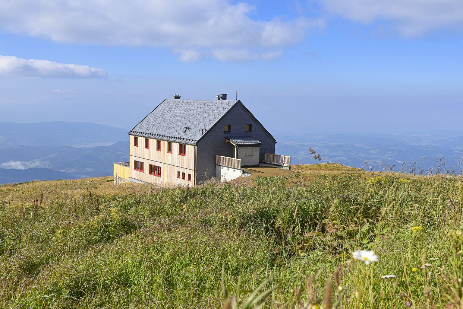 Höchstgelegenes Fertighaus der Alpen