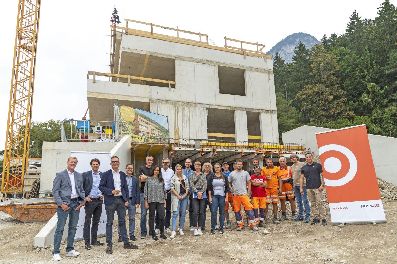Firstfeier für PRISMA-Projekt in Innsbruck