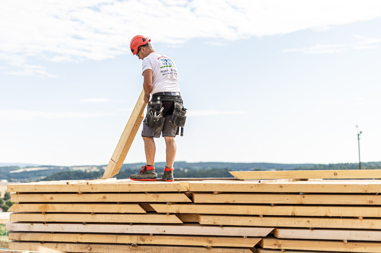 Mit Holz klimapositiv Bauen