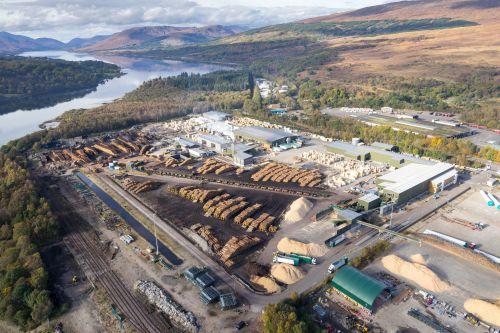 binderholz vor Übernahme der größten britischen Sägewerksgruppe