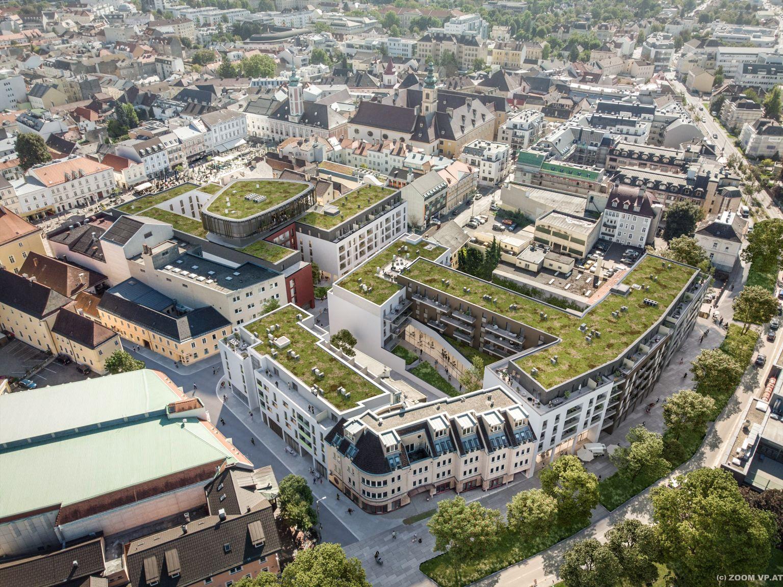 Quartiersentwicklung der Signa in St. Pölten nimmt Gestalt an