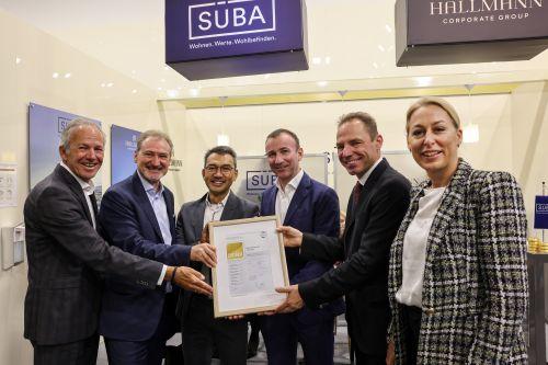SÜBA-Bauprojekt erhält DGNB-Gold