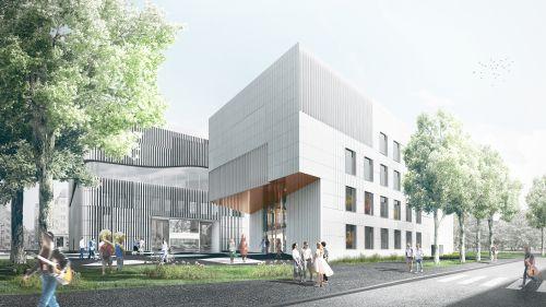 Neubau für die Universität Mozarteum