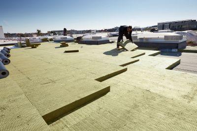 ROCKWOOL: neues Flachdachsortiment