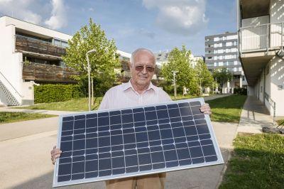 Hausgemachter Sonnenstrom aus Wien