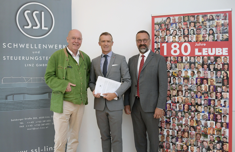 LEUBE übernimmt SSL aus Linz