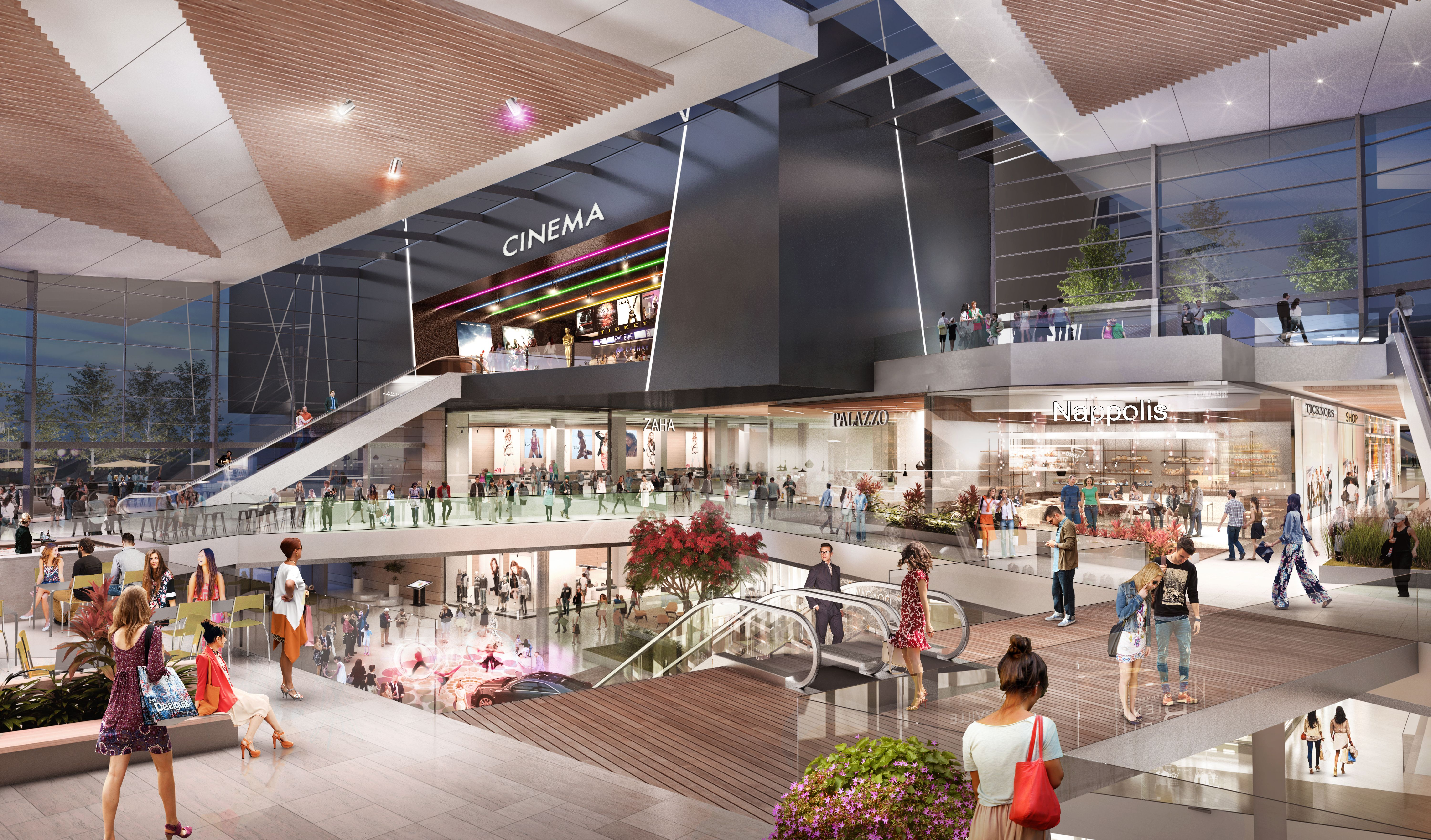 ECE plant neues Shopping-Center in Budapest