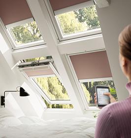 Erste Smart-Home-Anwendung für Dachfenster