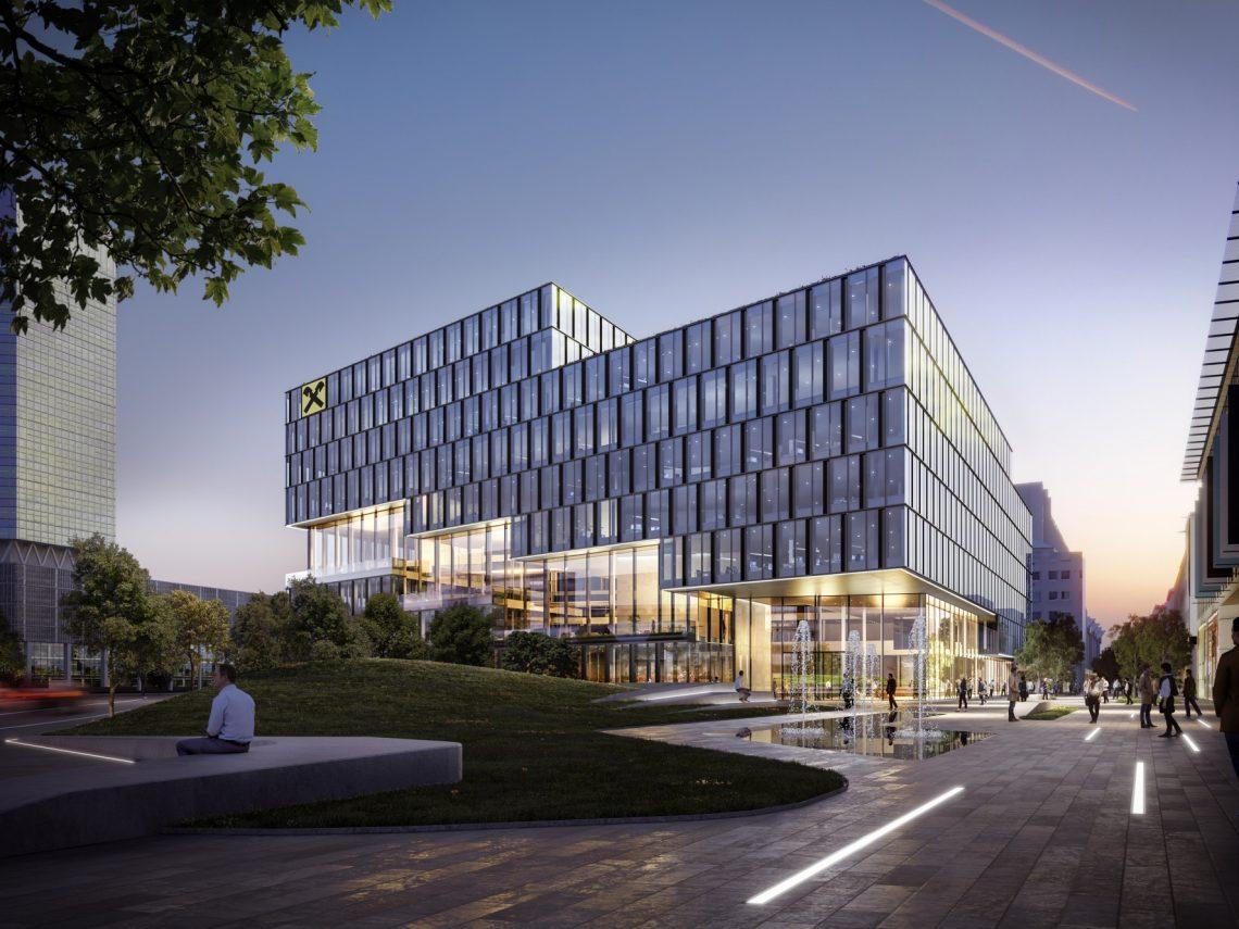 Neues Finanzzentrum für Raiffeisen OÖ