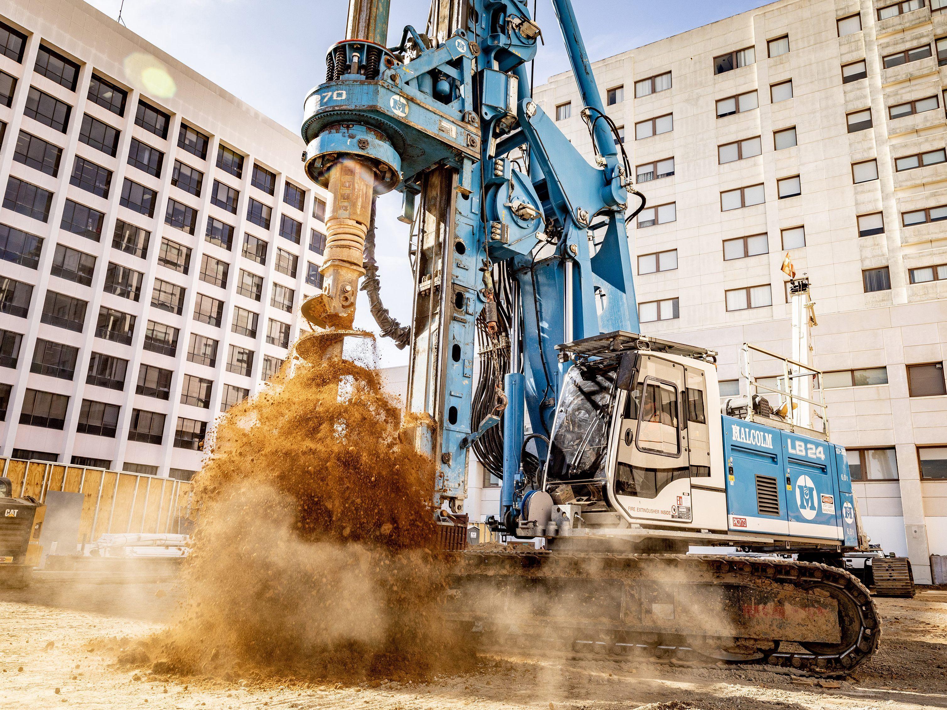 China dominiert die weltweite Baubranche