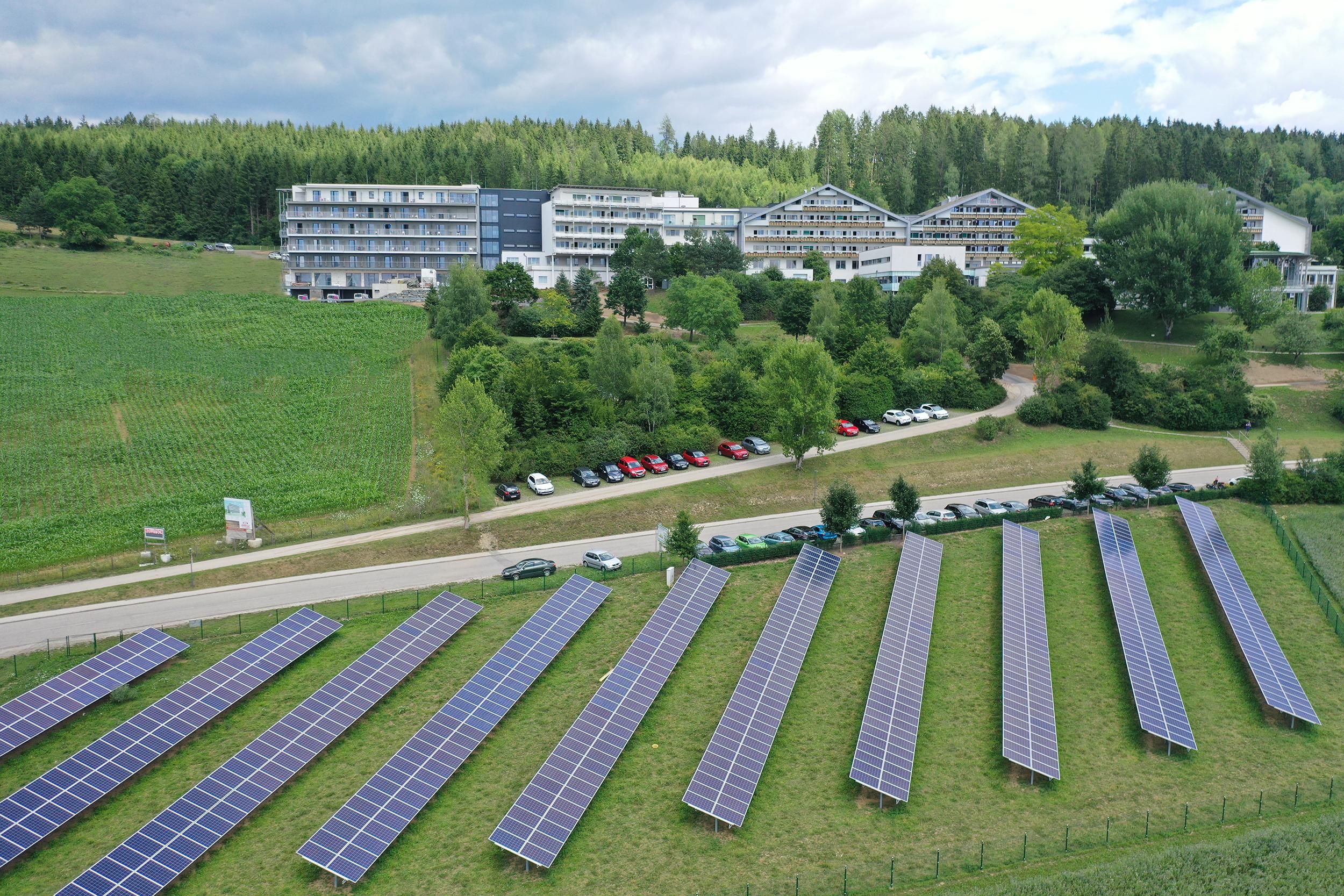 Humanomed Gruppe setzt auf Sonnenenergie