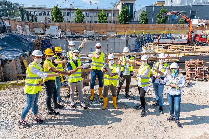 IKEA Wien Westbahnhof beginnt mit dem Höhenwachstum