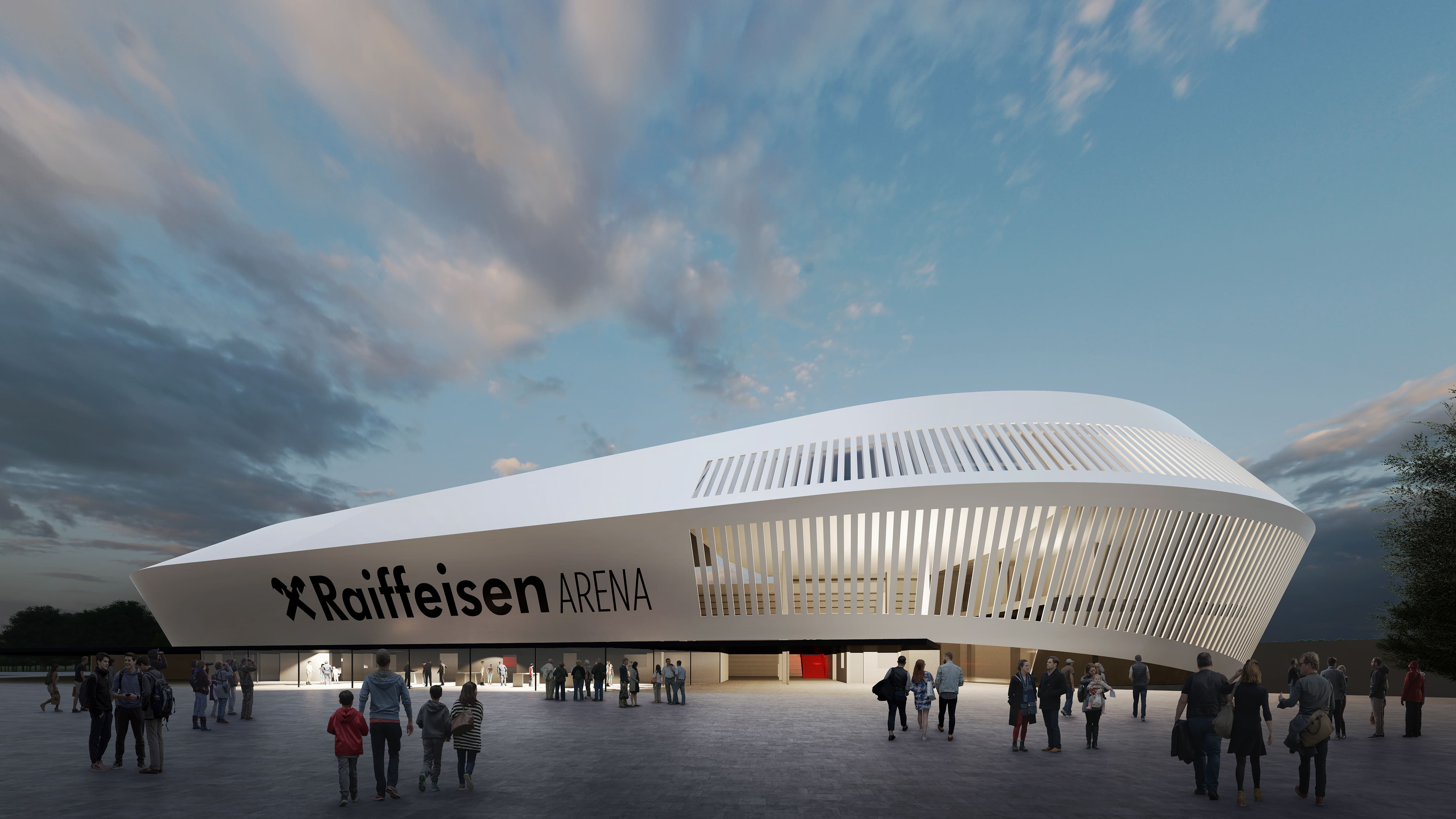 Neue LASK-Arena ist Meilenstein im Sportstättenbau