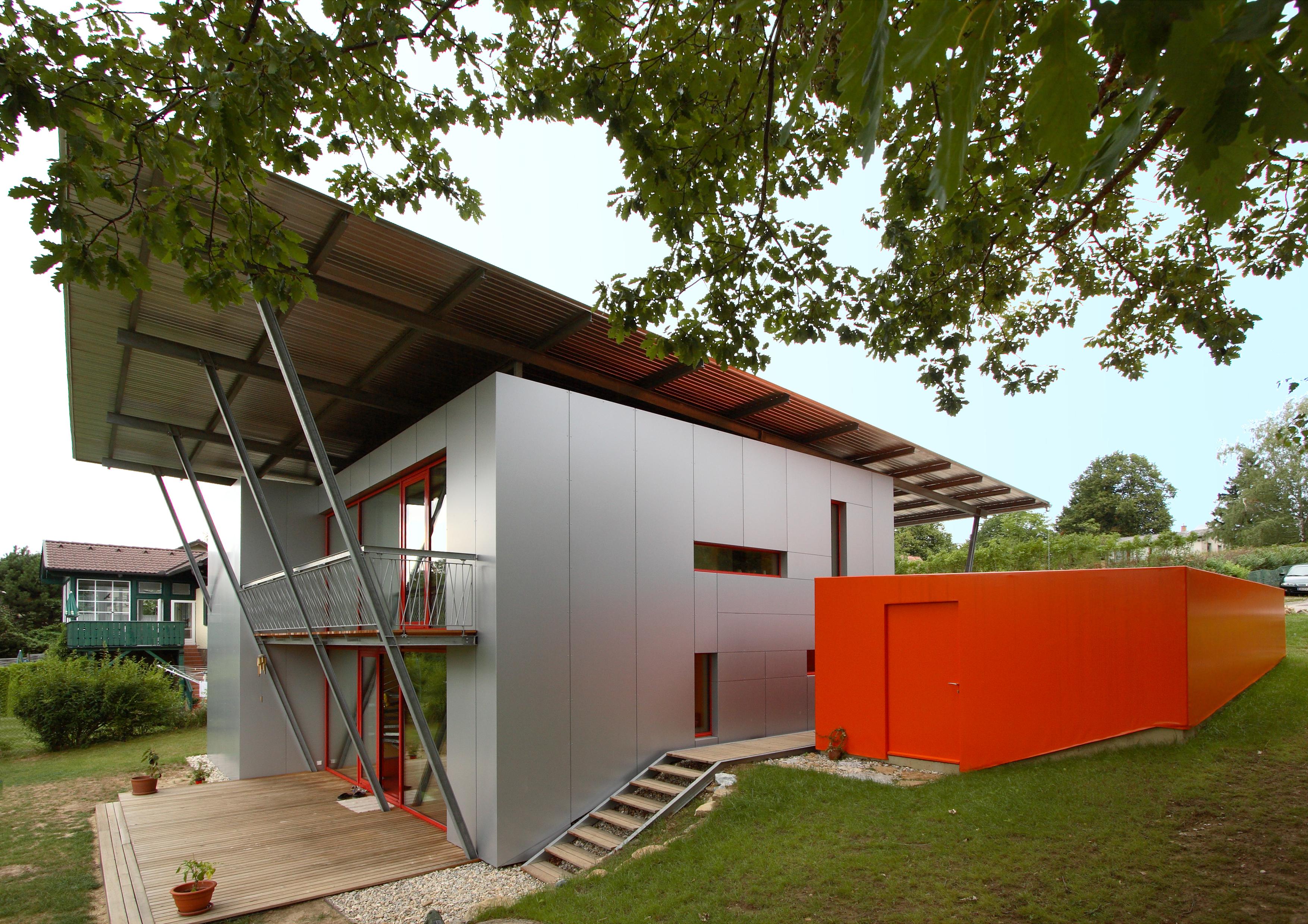 ALU-Passivhaus als Leuchtturm-Projekt