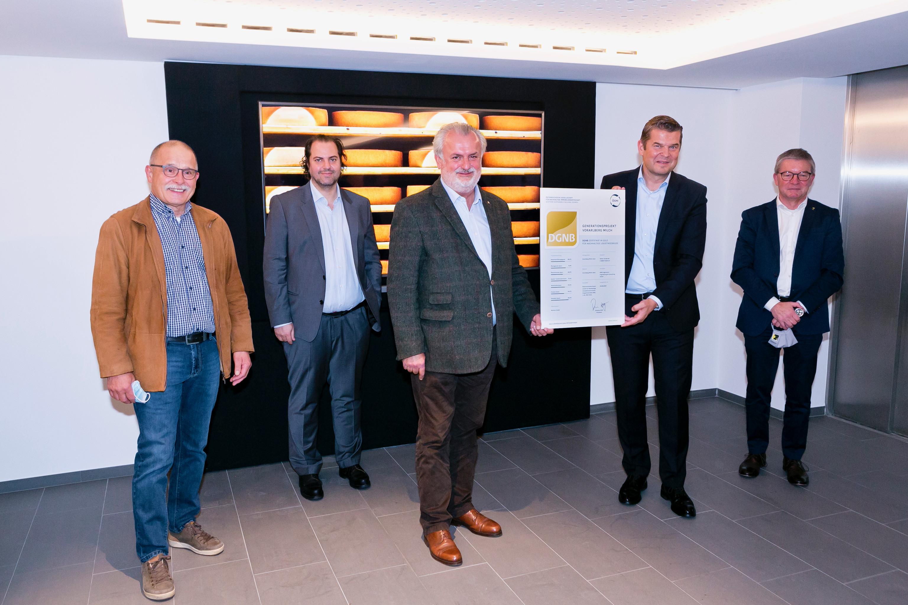 Erste Molkerei weltweit erhält DGNB-Zertifikat