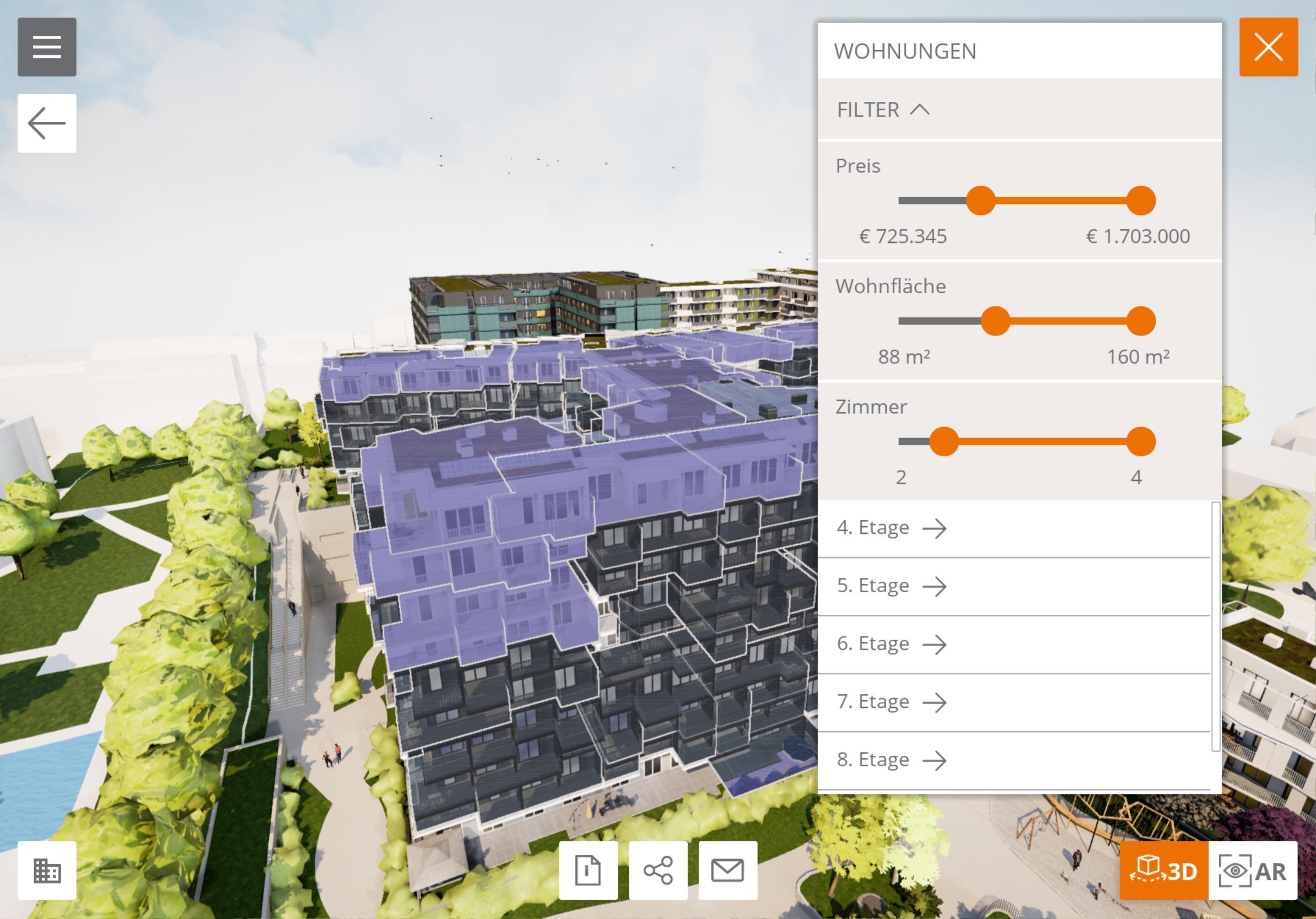 Squarebytes bringt Grundrissnavigator PlanBytes in 3D