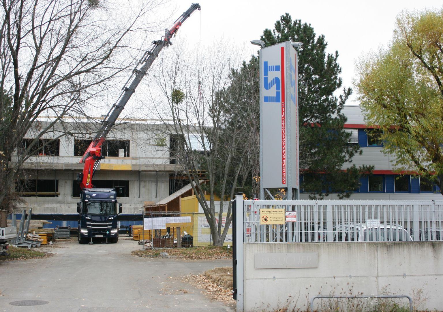 Labor Strauss Gruppe erweitert Wiener Standort